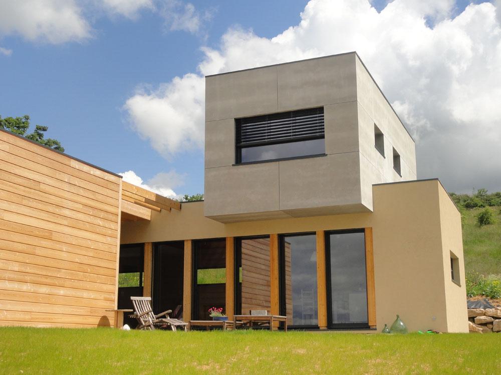 Maison bardage composite good bardage exterieur linkeo for Bardage maison bois